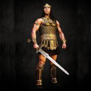Age Of Conan Greaves And Ankle Guards